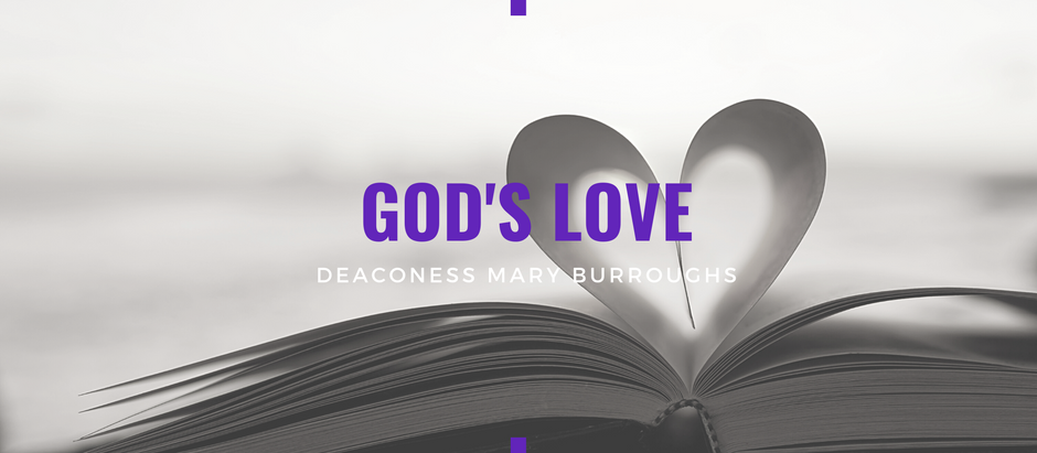 Advent 2020: God's Love by Mary Burroughs
