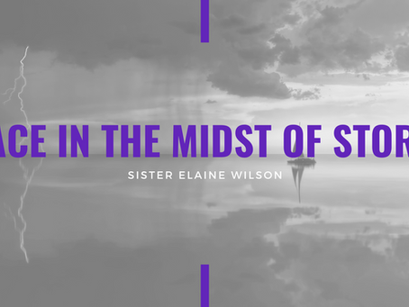 Advent 2020: Peace in the Midst of Storms by Elaine Wilson