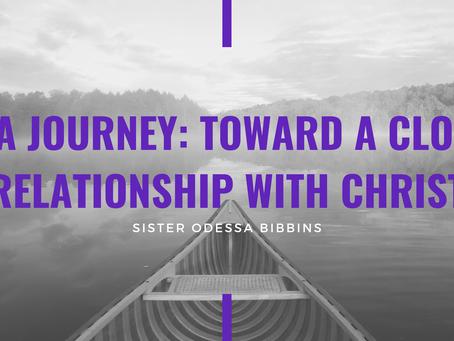 Advent 2020: On A Journey by Sister Odessa Bibbins