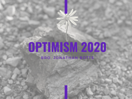 Advent 2020: Optimism 2020 by Jonathan Botts