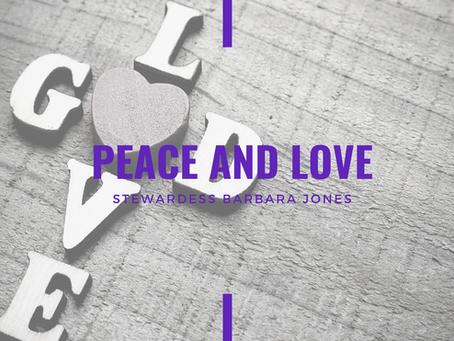 Lent 2021: Peace & Love by Barbara Farrow Jones