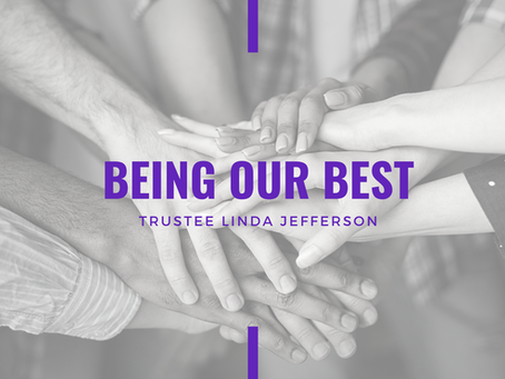 Advent 2020: Being Our Best by Linda Jefferson