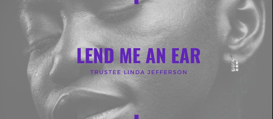 Lent 2021: Lend Me An Ear by Linda Jefferson