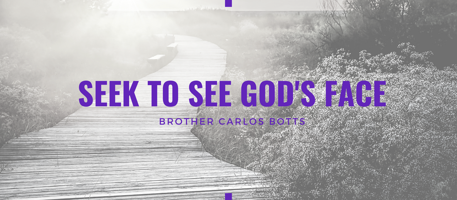 Advent 2020: Seek to See God's Face by Carlos Botts
