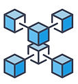 blue-blockchain-crypto-icon-cryptocurren