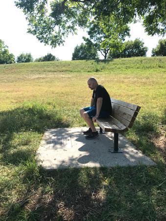 Ashley's Memorial Bench