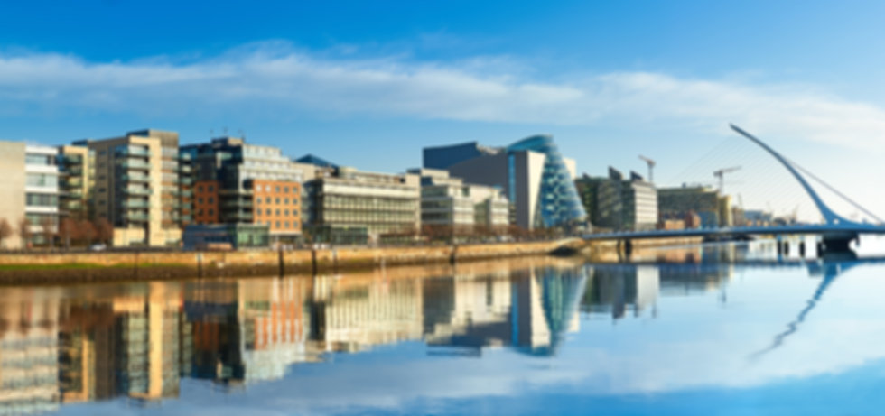 The river Liffey in Dublin City