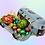 Thumbnail: Lata rellena de huevos de praline y chocolate