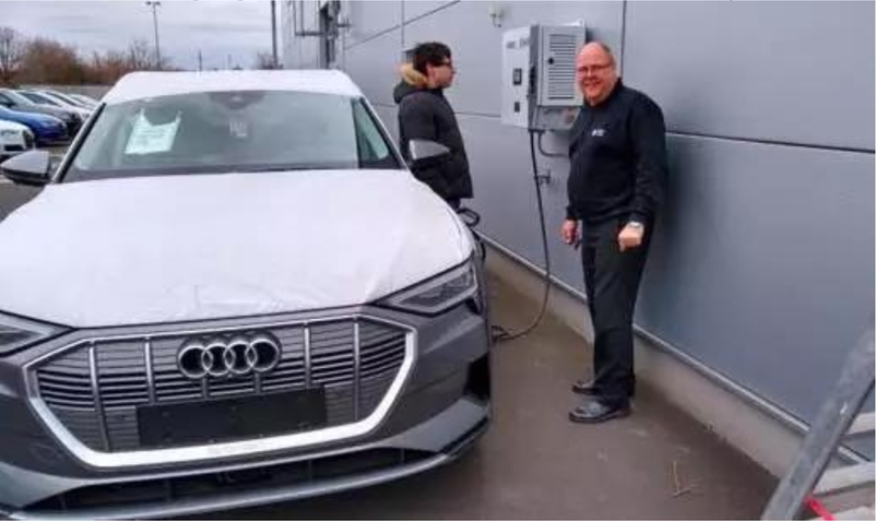 Provide charging service to car dealers in Germany