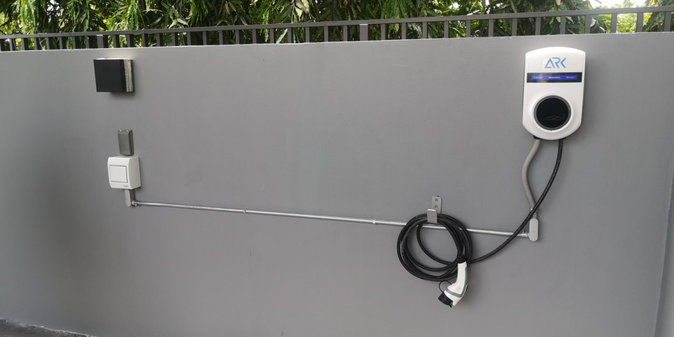 Set up 7 kW with Kia Motor in Thailand