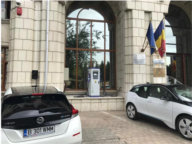 Set Up 60kW EV Charger Pilot Project in Bucharest Romania