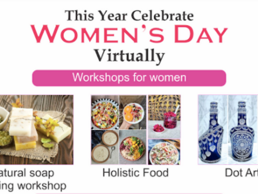 Virtual Events and Engagements for International Women's Day - Event U All