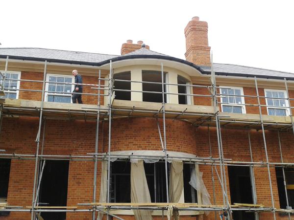 Exterior Jesmonite   Fibrous Plaster - The Surrey Cornice