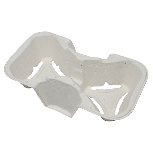 Cup Holder Molded Fiber for 2 cups