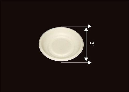 "3"" Round Plate"