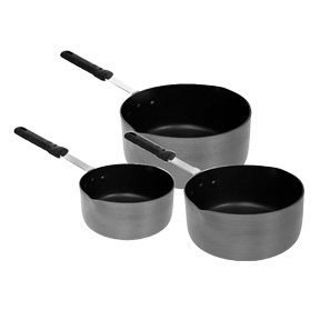 Anodized Non-Stick Coated Sauce Pan