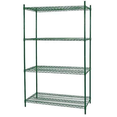 Heavy Duty Commercial Wire Shelving Epoxy Coated