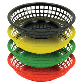 Colored Basket