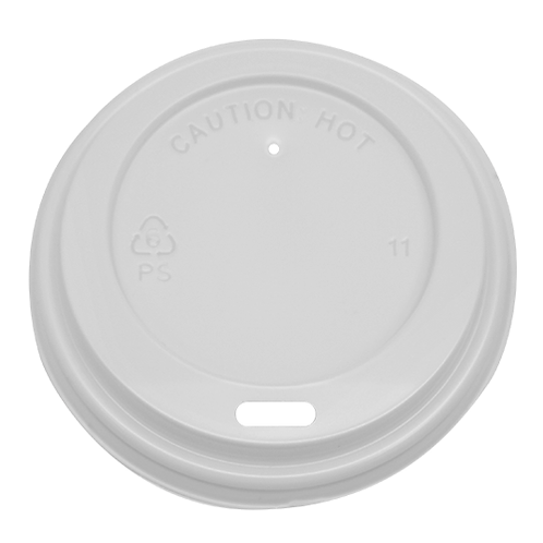 White Sipper Lid 8oz