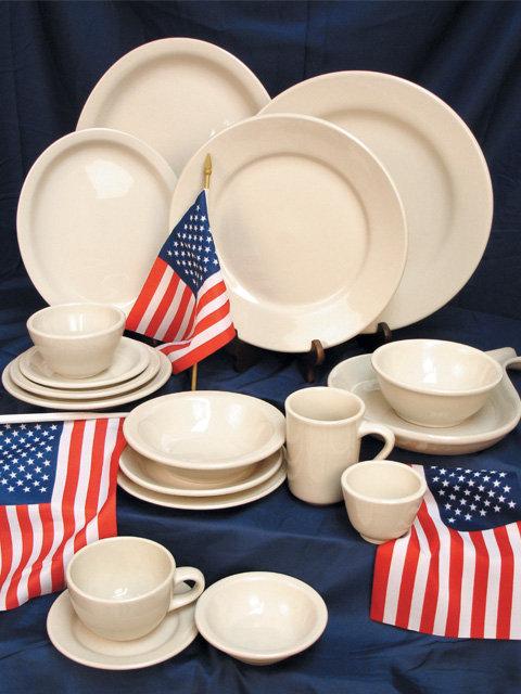 American White China