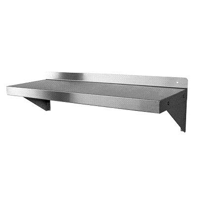 Stainless Steel Wall Mount Shelf