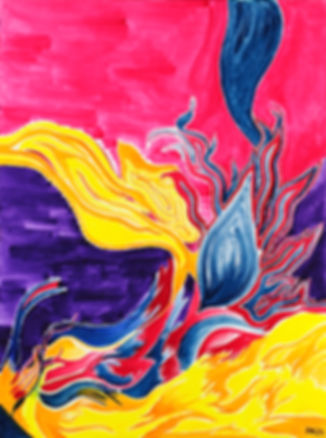 Quantengemälde Fantasie & Leidenschaft