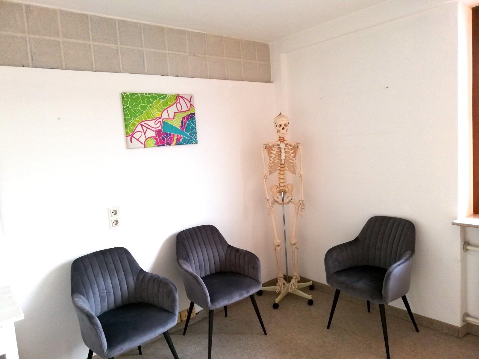 Das Gemälde Berufung war für viele Patienten der Hingucker