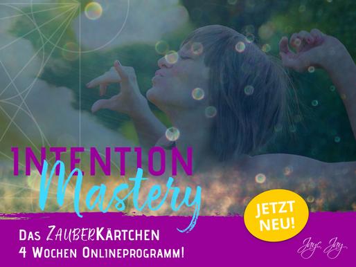 🐘 INTENTION-Mastery 🐘 Die Ausbildung wie keine andere.. direkt mit ERfolgsmodell