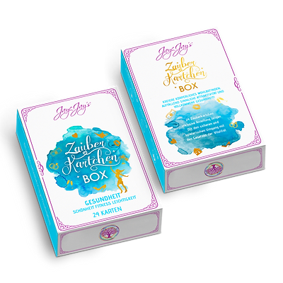 Zauberkärtchen BOX - GESUNDHEIT Schönheit Fitness Leichtigkeit