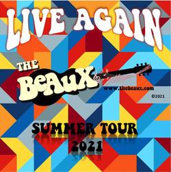 Beaux Band Live Again 2021 CD