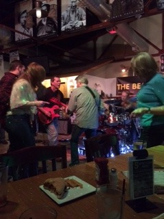 Dancing at Galena Brewery