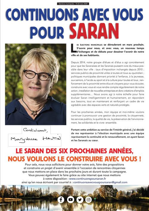 Journal de Campagne n°1 - Octobre 2019