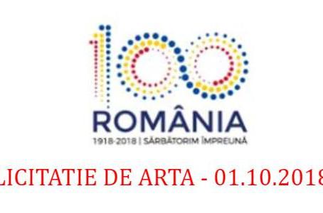"""ROMANIA IN 100 DE CULORI"" – Licitatie in scop caritabil"