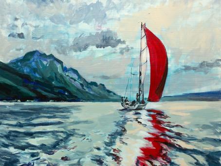 """""""Marea și navigația"""" – expoziție de artă"""
