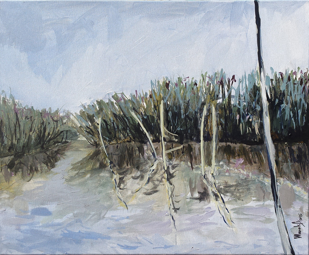 in Delta_acrilic pe panza 50 pe 60 cm autor Alina Manole_