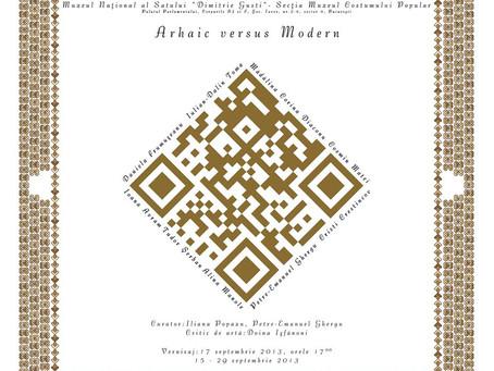 """""""Arhaic versus Modern"""", grupul 4Art @ Muzeul Costumului Popular, secţie a Muzeului Naţio"""