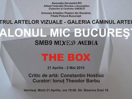 SALONUL MIC BUCUREŞTI (SMB9 mixed media), Ediţia a IX-a, 2015  THE BOX