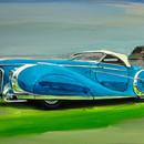 """28. titlu """"Delahaye Saoutchik Roadster""""d"""