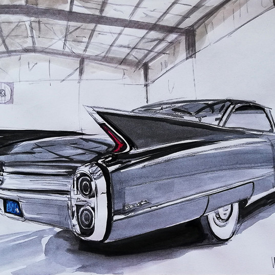 Cadillac Coupe De Ville__autor Alina Man