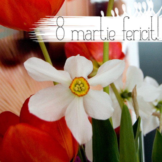 8 martie fericit