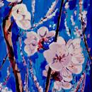 flori de cais_acrilic pe panza_50pe 70 c