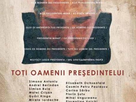 """""""Toţi oamenii preşedintelui"""" la galeria Simeza"""