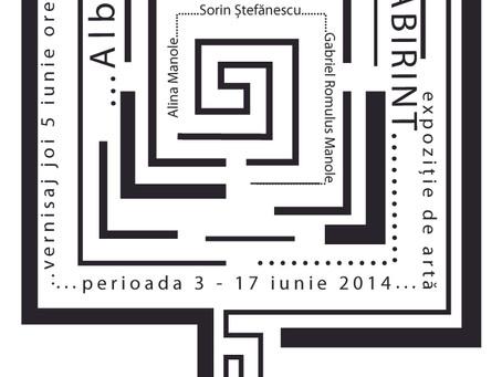 … ALB … NEGRU …Labirint @ Galeria 15 Design, Hanul cu Tei