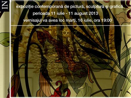 """""""1900 – InSpired"""", expoziţie contemporană de pictură, sculptură şi grafică Grupul 4 Art"""