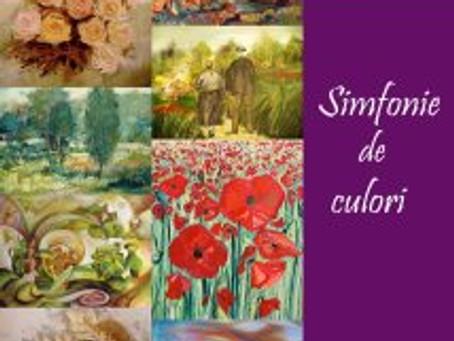 "expozitie de pictura ""Simfonie de culori"" , la ceainaria Ceai et Caetera"