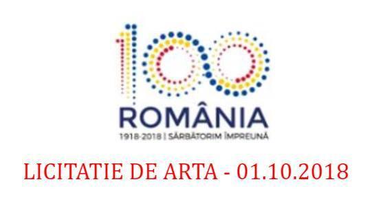 licitatie de arta Romania in 100 de culori
