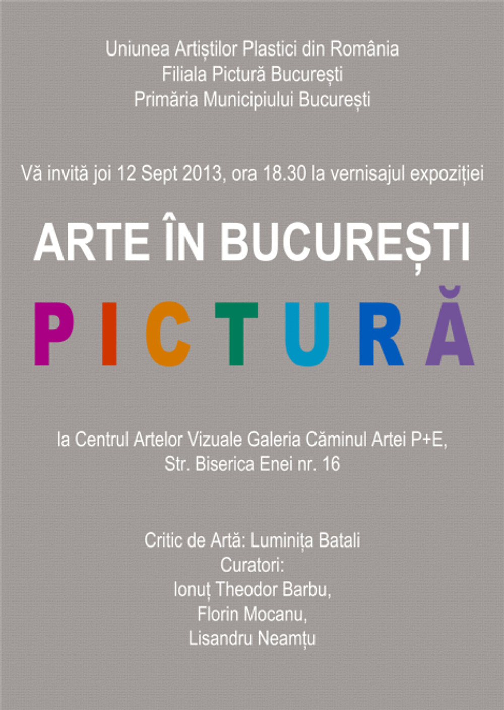 invitatie ARTE BUCURESTI 2013 low res