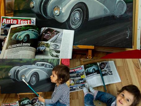 BMW 328 Kamm Coupe in revista AutoTest nr 244 din aprilie 2019