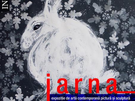 """""""IARNA"""" – Expoziție de artă contemporană  pictură și sculptură"""
