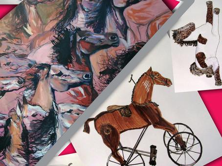 """""""The Ride"""", expoziție de artă-Alina Manole  și Ecaterina Bălănescu"""